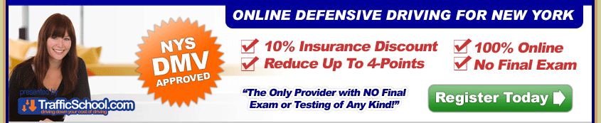 Online Defensive Driving in New York