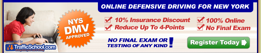 On line NY Defensive Driving